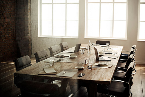 board of directors desk